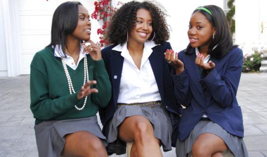3 black girls